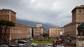 Architektur von Rom. Stockfoto