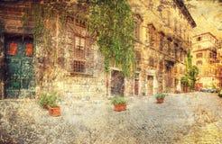 Architektur von Rom Italien Lizenzfreie Stockfotografie