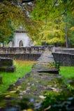 Architektur von Ruinen im Herbst Lizenzfreie Stockfotografie