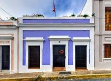 Architektur von San Juan, Puerto Rico Lizenzfreies Stockfoto