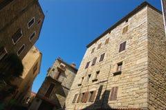 Architektur von Sartene Lizenzfreies Stockfoto
