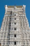 Architektur von Sri Govinda Raja Swamy Temple, Tirupati, Indien stockfotos