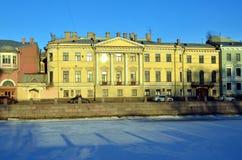 Architektur von St Petersburg Lizenzfreies Stockfoto