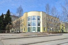 Architektur von Syktyvkar stockbilder