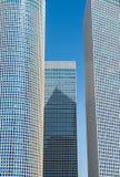 Architektur von Tel Aviv stockbild