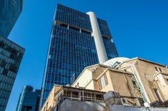 Architektur von Tel Aviv lizenzfreie stockfotos