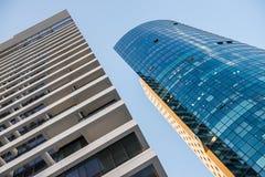 Architektur von Tel Aviv stockfoto