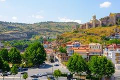 Architektur von Tiflis, Georgia Stockbild
