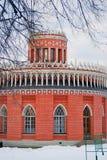Architektur von Tsaritsyno-Park in Moskau Stockbild