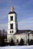 Architektur von Tsaritsyno-Park in Moskau Farbfoto Stockfoto