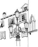 Architektur von Venedig Italien vektor abbildung