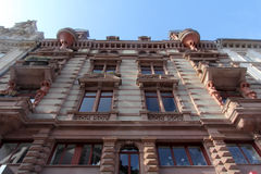 Architektur von Wiesbaden, Deutschland lizenzfreies stockbild