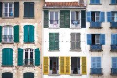 Architektur von Wohnungen stockfoto
