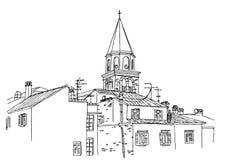 Architektur von Zadar, Kroatien vektor abbildung