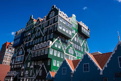 Architektur in Zaandam stockbild