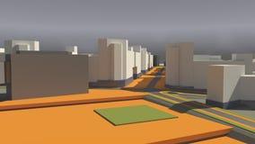 Architektura (3d rendering) Zdjęcie Stock