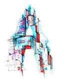 architektura Ilustracja Wektor