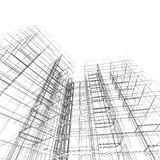 architektura abstrakcyjna Obrazy Stock