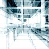 Architektura abstrakt Obraz Royalty Free