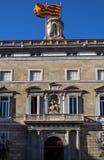 architektura Barcelona Catalunya De Generalitat mieści losu angeles punkt zwrotny biur pałac Palau prezydentury Obrazy Stock