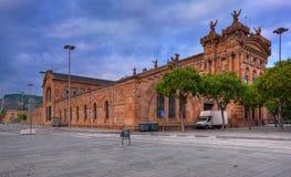 Architektura Barcelona. Hiszpania. Obrazy Royalty Free