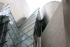 architektura Bilbao futurystyczny Spain zdjęcie royalty free