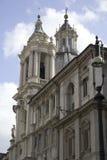 Budynki zbliżają piazza Navona, Rzym, Włochy Fotografia Royalty Free