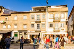 Architektura Braga, Portugalia obraz royalty free