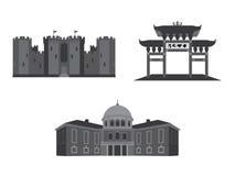 Architektura budynki 01 Royalty Ilustracja