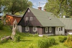 Architektura Czeskie góry Obrazy Royalty Free