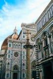 Architektura Europa Santa Maria Del Fiore Obraz Royalty Free