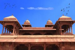 Architektura Fatehpur Sikri, Agra, India, Uttar Pradesh zdjęcia royalty free