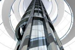 architektura futurystyczna Zdjęcie Stock