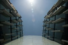 architektura futurystyczny kształt Fotografia Royalty Free