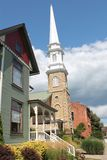 Architektura galena, Illinois Zdjęcie Royalty Free