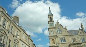 Architektura i chmury Zdjęcia Stock
