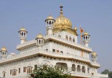 Architektura i miejsce interes w India miasto Amritsar, Obrazy Stock