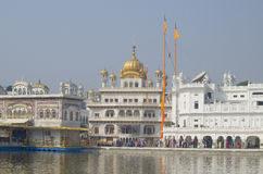Architektura i miejsce interes w India miasto Amritsar, Zdjęcia Stock