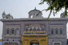 Architektura i miejsce interes w India miasto Amritsar, Zdjęcie Stock