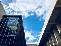 Architektura i niebo fotografia royalty free