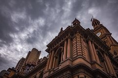 Architektura i niebo obraz stock