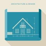 Architektura i projekt Obrazy Royalty Free