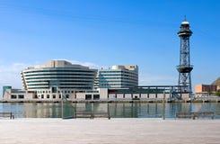 Architektura i sztuka w Barcelona fotografia royalty free