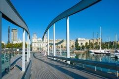 Architektura i sztuka w Barcelona zdjęcie royalty free