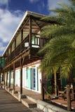 architektura karaibska Obrazy Royalty Free