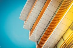 Architektura kolorów projekta Tapetowy Jaskrawy tło artystyczny zdjęcia royalty free