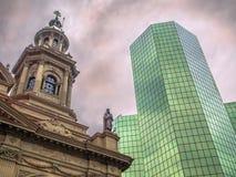 Architektura kontrast Zdjęcie Royalty Free