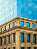 Architektura kontrast Zdjęcia Stock