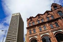 Architektura kontrast obrazy royalty free