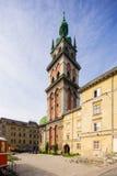 Architektura Lviv Ukraina obraz stock